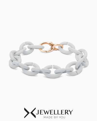 [X Jewellery] Pale Grey Bronze Bracelet