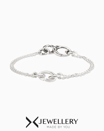 [X Jewellery] Triple Tangle Petite Chain Bracelet