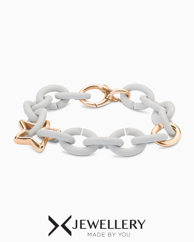 [X Jewellery] Pale Grey My Star Bracelet
